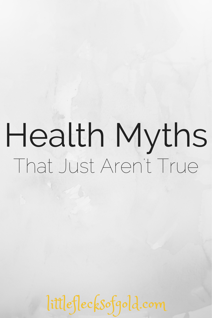 Common Health Myths Debunked: Little Flecks of Gold