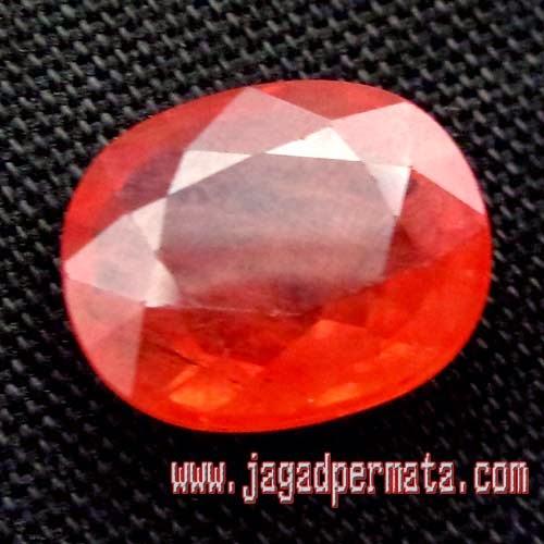 Batu Permata Natural Padparadscha