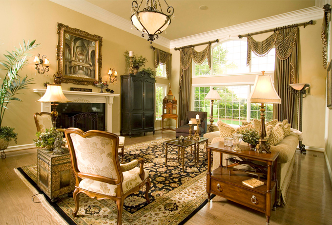 Landfair on Furniture Tips on Styling a Large Living Room