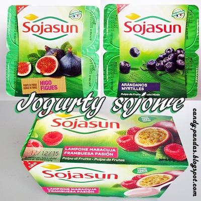 Jogurty sojowe - Sojasun