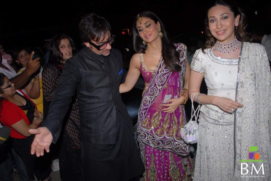Saif Ali Khan & Kareena Kapoor's GRAND WEDDING  - YouTube