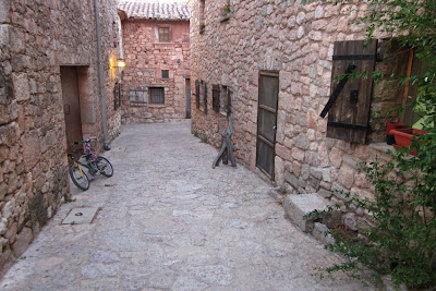 A typical street in Siurana