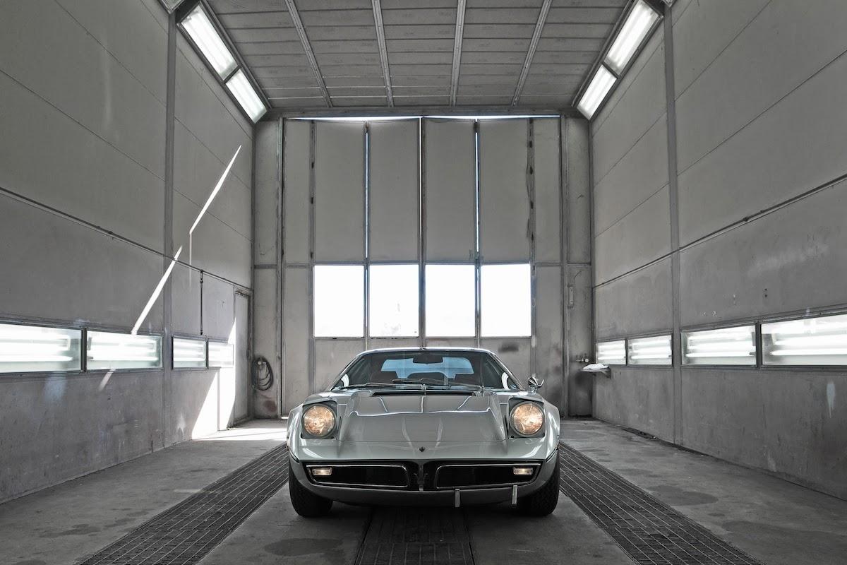 Maserati Bora 49 Coupe