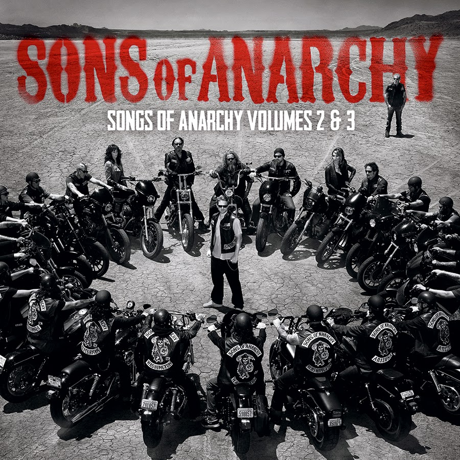 Record Store Day 2015 Exclusive Sons of Anarchy Vol 2 & 3 Original Soundtrack Album 2LP Vinyl Records