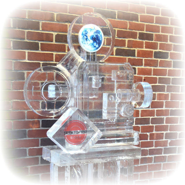 Ice Projector, Salem, Massachusetts, chocolate, glass, transparent, festival