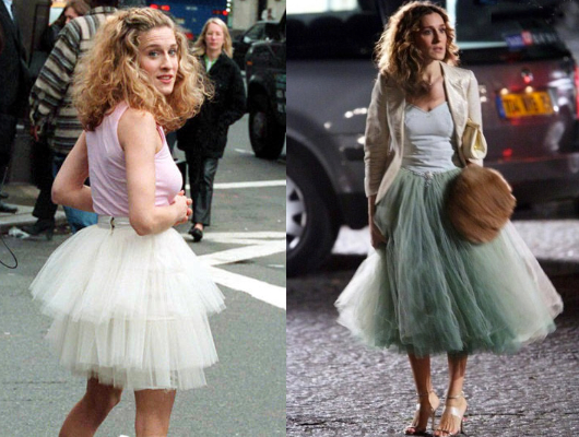 Carrie sex and the city tulle skirt