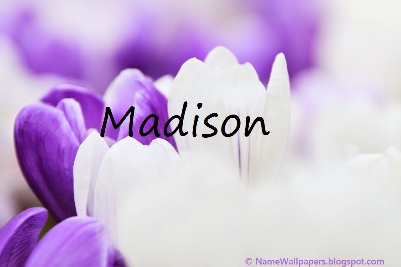madison names meaning