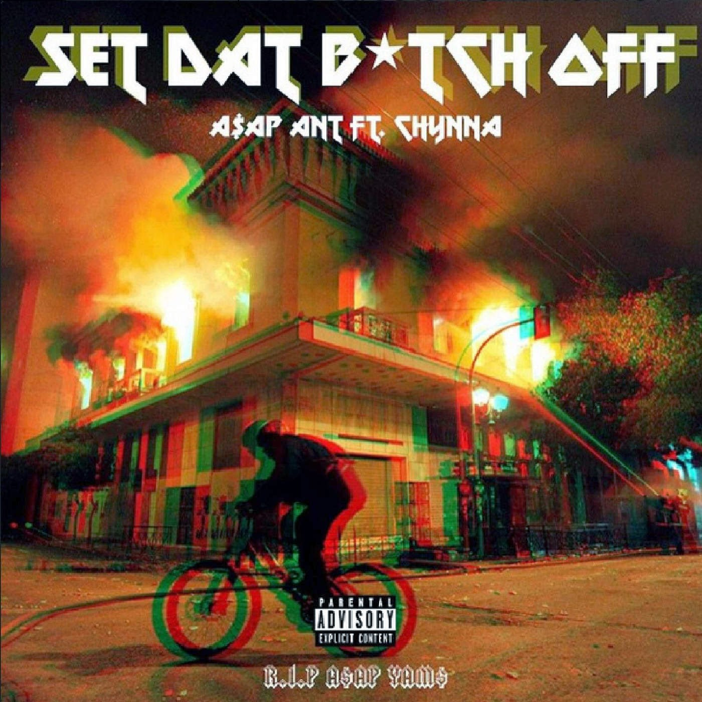 A$AP Ant - Set Dat Bitch Off (feat. Chynna) - Single Cover
