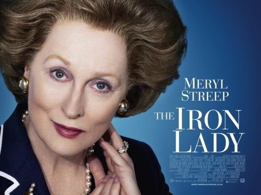 Meryl Streep Iron Lady poster