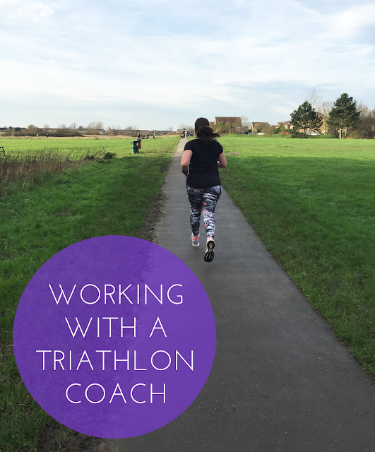 Working with a triathlon coach