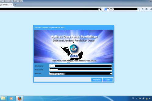 Aplikasi Dapodikdas juga dimanfaatkan untuk pengisian rapor Kurikulum 2013