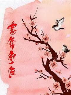 hinh nen chuc mung nam moi.64958 Hình nền thư pháp 2014 chúc mừng năm mới