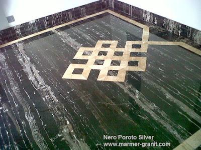 nero portoro silver slabs