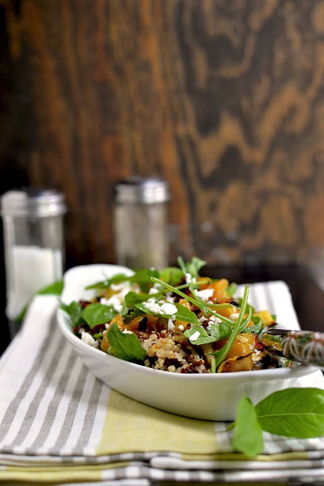 Quinoa & Grilled Vegetable Salad