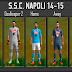 SSC Napoli Kit Set 2014-2015 - PES 2013