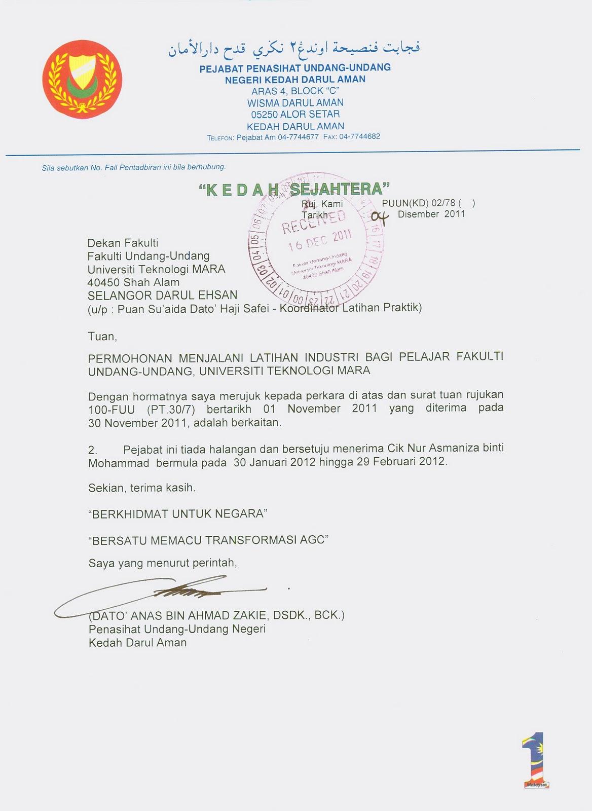 Penasihat Undang Undang Negeri Kedah