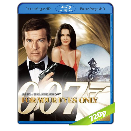 James Bond: For Your Eyes Only (1981) BRRip 720p Audo Dual Latino/Ingles 5.1