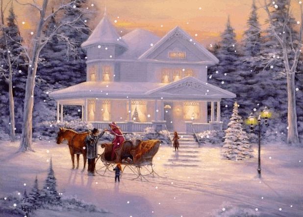 Animated Christmas Wallpapers in GIF for Download | Passion For Lord