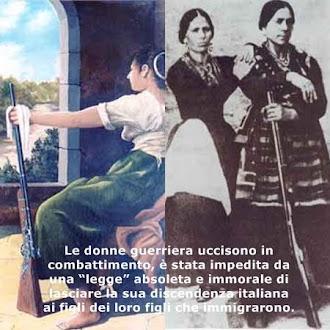 Le donne guerriera.
