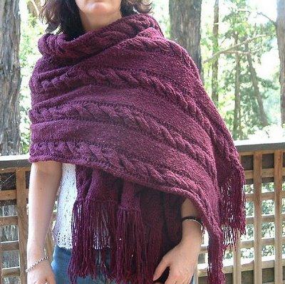 2012 Knitting shawl patterns