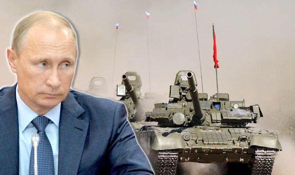 Rússia envia em tanques para a Síria