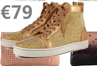 christian louboutin strass homme sneakers 2016