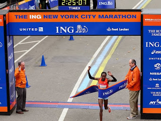 New York City Marathon, Kenyan Runners, Men's and Women's Race, Priscah Jeptoo