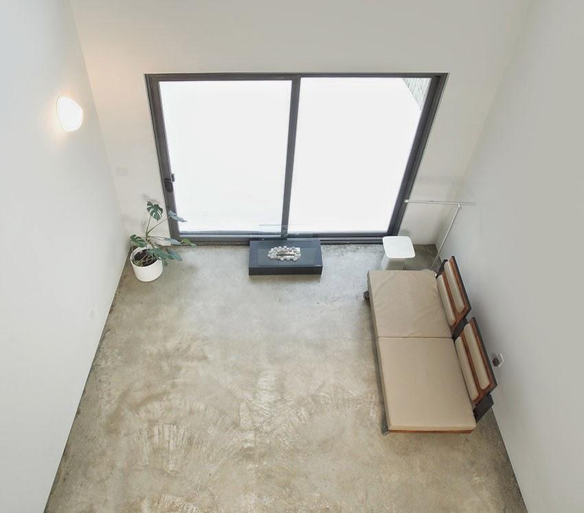 Desain Interior Rumah Minimalis dengan Interior Industri / Modern