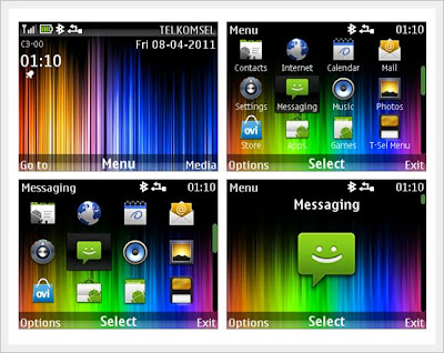 Spiky themes For NOKIA C3-00-X2-01