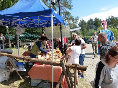 Piknik Jaćwieski 2015 Stare Juchy, kuchnia tatarska