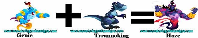 como obtener el monster haze en monster legends formula 1