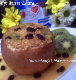 Fruity Oatmeal Baked Apple