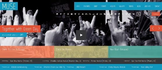 Muse - Music Band Responsive WordPress Theme