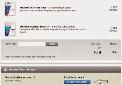 McAfee Internet Security 2014 Activation Key