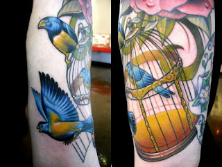 Cage Birds Tattoo