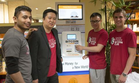 Inauguration des automates Bitcoin à la SFU