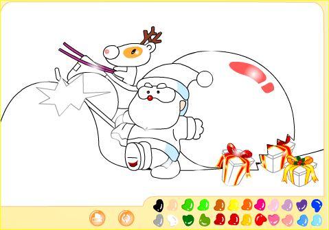 Jugando y aprendiendo juntos: 5 Dibujos de Navidad para colorear Online