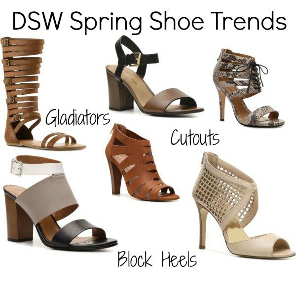 dsw shoe trends