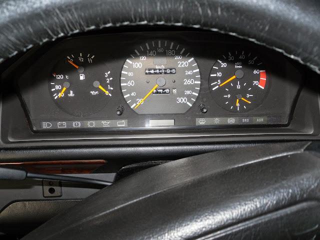 w124 speedometer