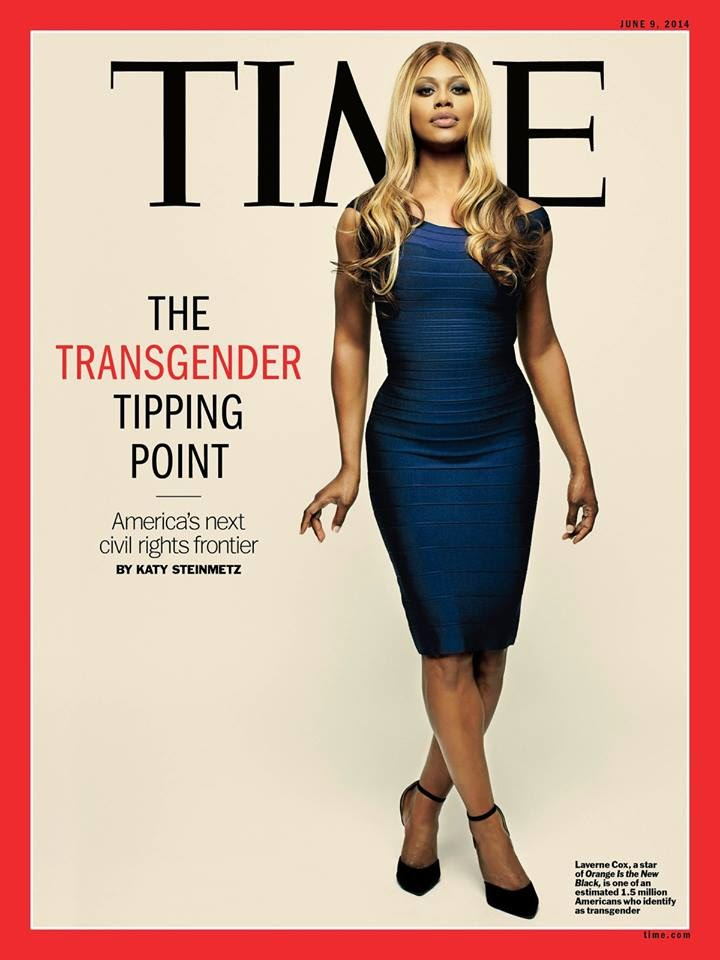 Laverne Cox (transexual de Orange is The New Black): uma das pessoas mais influentes do mundo