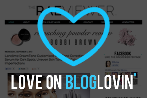 Follow RAEview on Bloglovin