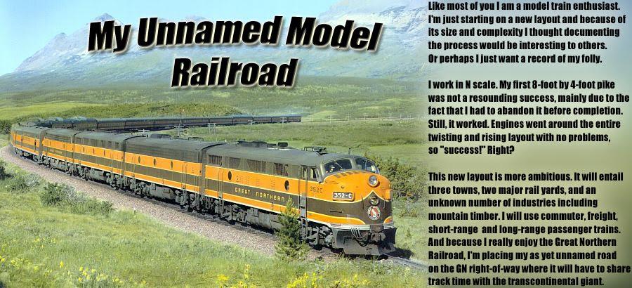 My Unnamed Model Railroad
