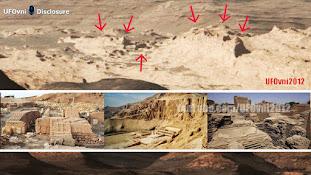 LES ANCIENNES RUINES D'UNE ALIEN CITY SUR MARS DANS LES IMAGES OFFICIELLES DE LA NASA