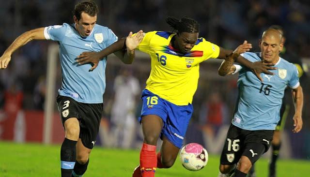 Ver partido Ecuador vs Uruguay en vivo