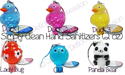Simply Clean Hand Sanitizer Collection