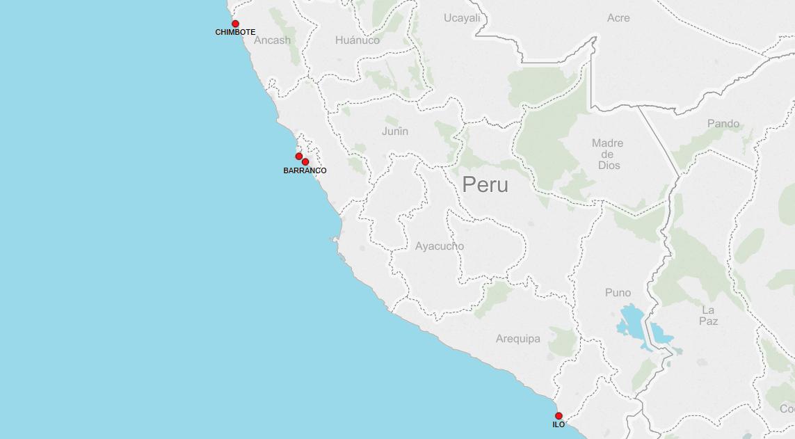 PORTS IN PERU
