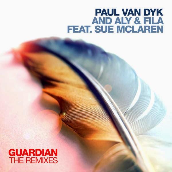 Paul van Dyk & Aly & Fila - Guardian (feat. Sue McLaren) [Remixes] - EP Cover