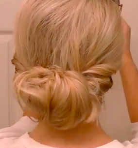 Quick Hairstyle for Long Hair: The Quick Twisted Updo Hairstyle Tutorial