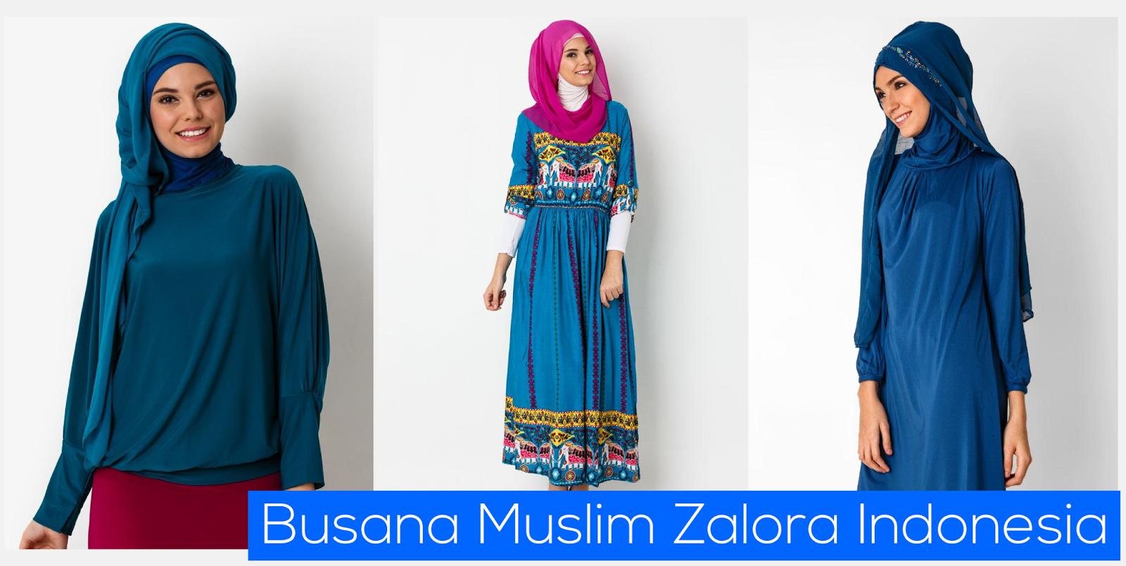 Busana Muslim Zalora Indonesia