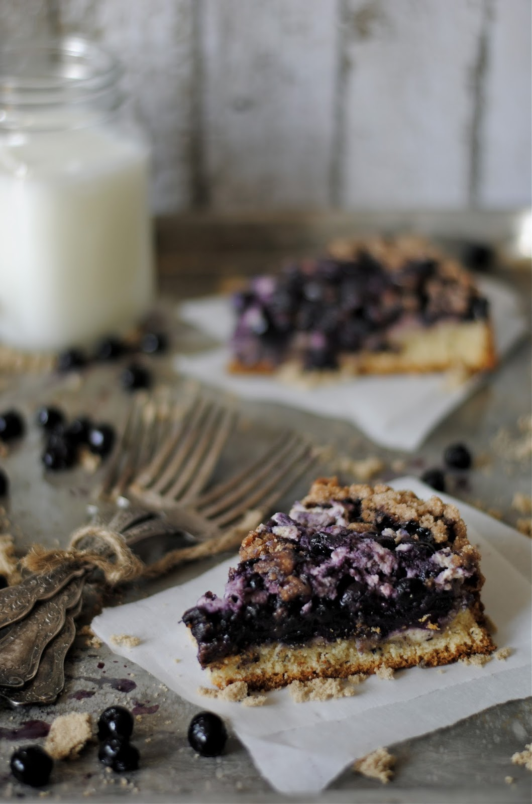 Blueberry Cream Cheese Coffee Cake - How To: Simplify